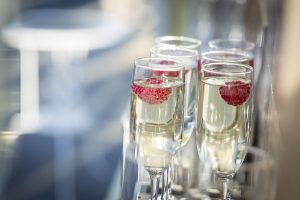 Garden Wedding Drinks Reception by The Art Of Bubbles