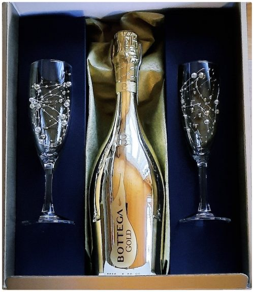Bottega Gold The Art Of Bubbles Gift Box