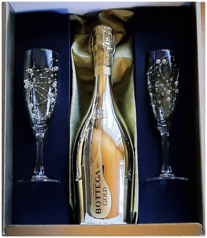 Bottega Gold The Art Of Bubbles Gift Box